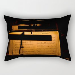Habanera Notes Rectangular Pillow