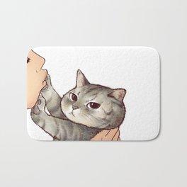cat : hmmmmm! Bath Mat