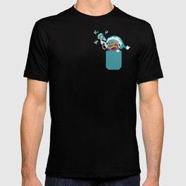 Pocket healer andes DJ T-shirt