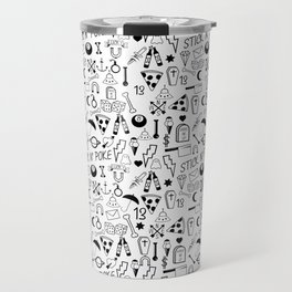Stick and Poke Tattoo Travel Mug