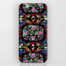 Ecuadorian Stained Glass 0760 iPhone Skin