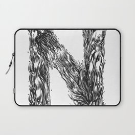 The Illustrated N Laptop Sleeve