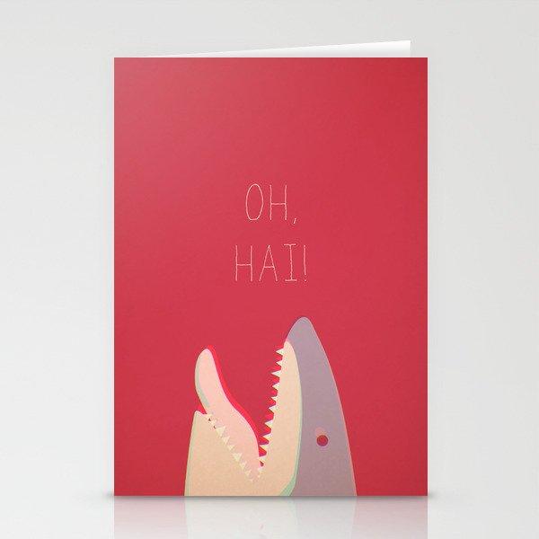 Sharky Stationery Cards