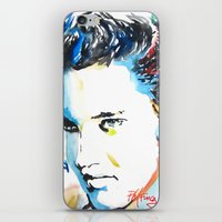 elvis iPhone & iPod Skins featuring Elvis by Phil Fung