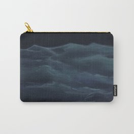 Dark Ocean Carry-All Pouch