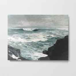 A visit to Winslow Homer's Cannon Rock Metal Print