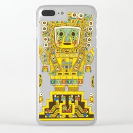 Viracocha Color Clear iPhone Case