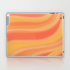 Peachy Waves Laptop & iPad Skin