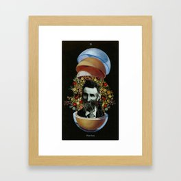 0. The Fool Framed Art Print