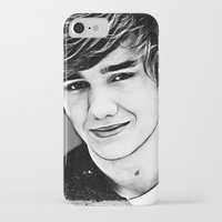 liam payne iPhone & iPod Cases featuring Liam Payne by D77 The DigArtisT