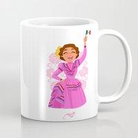 mexico Mugs featuring Mexico  by Melissa Ballesteros Parada