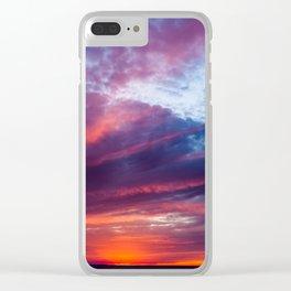 Martha's Vineyard Sunset Clear iPhone Case