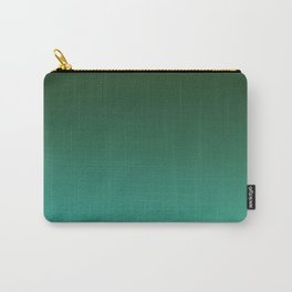 SHADOWS AND COUNTERPARTS - Minimal Plain Soft Mood Color Blend Prints Carry-All Pouch