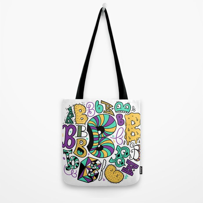 All the B's Tote Bag