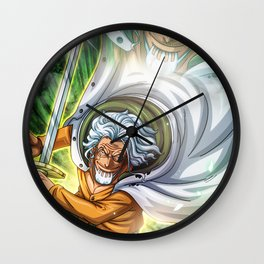 Silver Rayleigh - One PIece Wall Clock