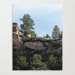 Colorado Bluffs Poster