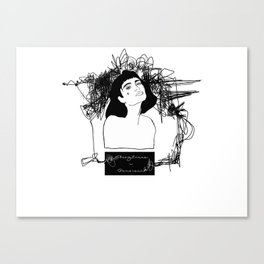 Untangle Thougths Canvas Print