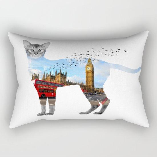 London cat Rectangular Pillow
