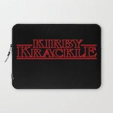 Kirby Krackle - Upside Down Logo Laptop Sleeve