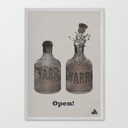 YARR Rum  Canvas Print