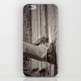 Clean Plate iPhone Skin