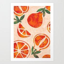 Tangelo Fun Art Print