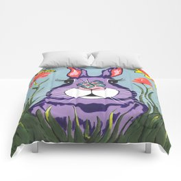 Funny Bunny - Happy Easter Comforters