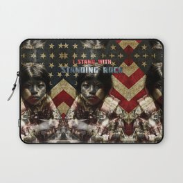 I Stand With Standing Rock Laptop Sleeve