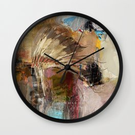 'WALK IN BEAUTY' Wall Clock