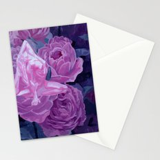 strength and beauty Stationery Cards