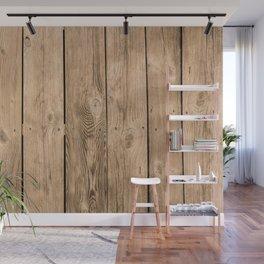 Wood I Wall Mural
