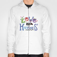 Love and Happiness Hoody