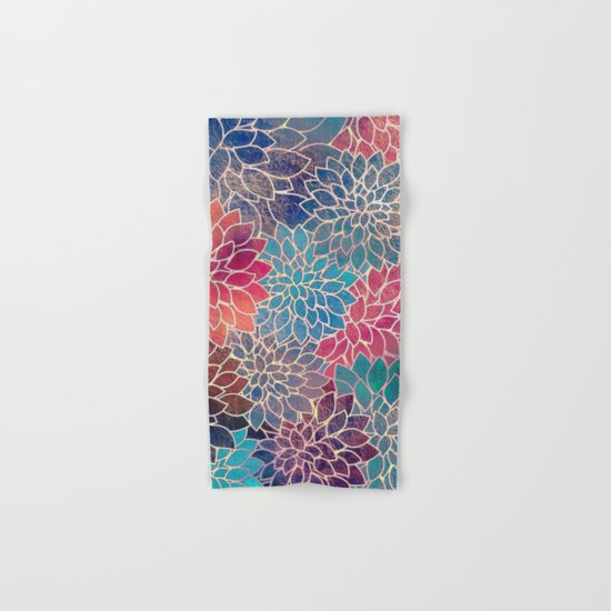 Floral Abstract 8 Hand & Bath Towel
