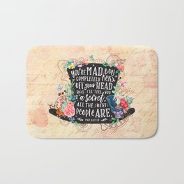 Mad Hatter Bath Mat