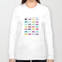 motorbike Long Sleeve T-shirts featuring motorbike summer by GO-BIKE-GO