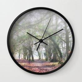 Enchanted Woodland Wall Clock