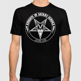 Knights In Satan's Service - Join Us T-shirt