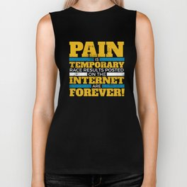 261012 Pain Temp Forever Black 1 073018 Biker Tank