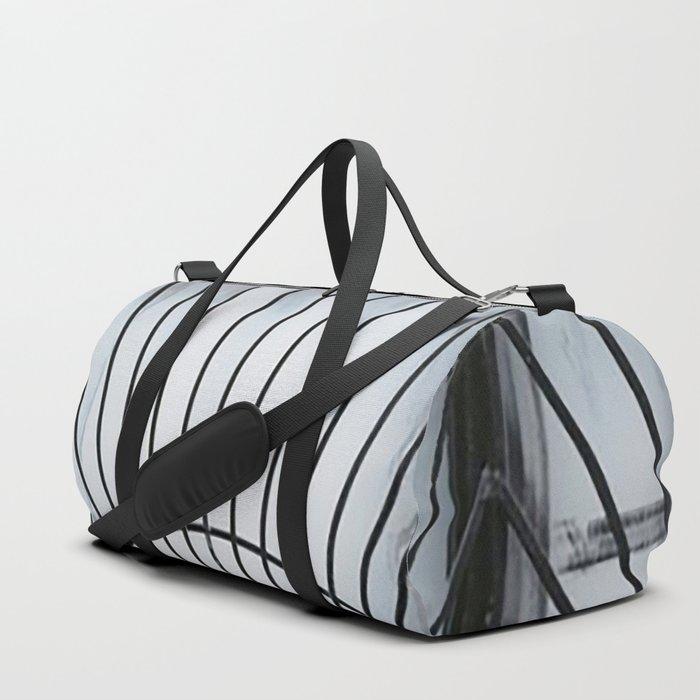 Caged In Manhattan Duffle Bag