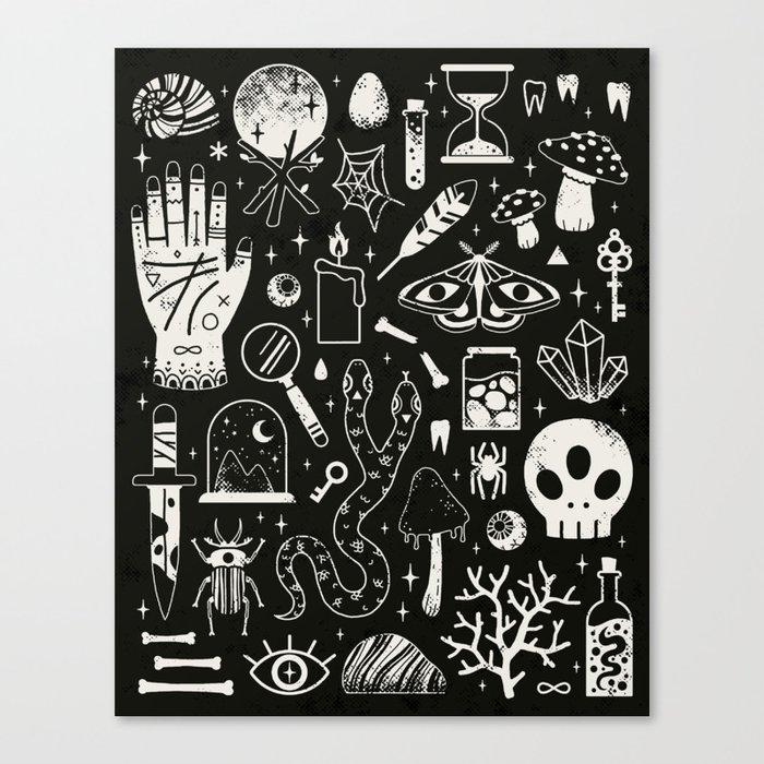 Curiosities: Bone Black Leinwanddruck
