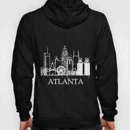 Atlanta Skyline Funny Souvenir Gift Hoody