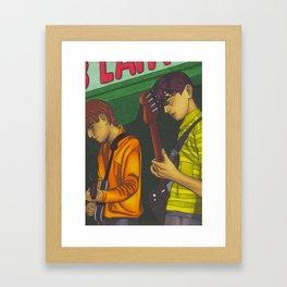 Blueboys Framed Art Print