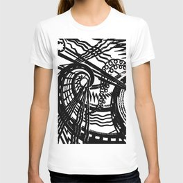 trapped contract T-shirt