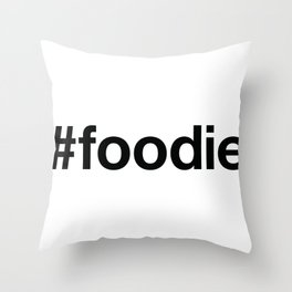FOODIE Throw Pillow