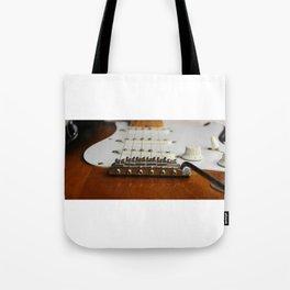 Electric Guitar close up  Tote Bag