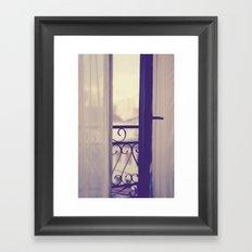 Paris Boudoir  Framed Art Print