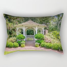 Gazebo Gardens Rectangular Pillow