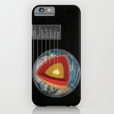 Earth - Cross Section iPhone 6s Slim Case