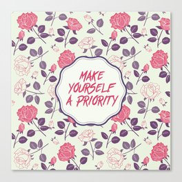 Make yourself a Priority Canvas Print
