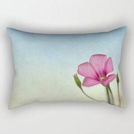 Happy lil Flower Rectangular Pillow